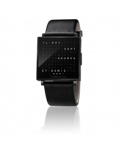 Qlocktwo Montre W Black