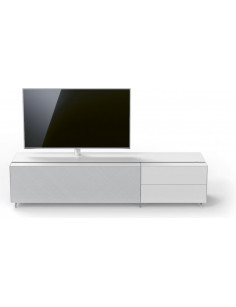 Meuble Tv Spectral Cocoon CO3 + CO2 Blanc